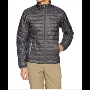 Patagonia Nano Puff grey men's jacket L